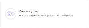 Create Group Button