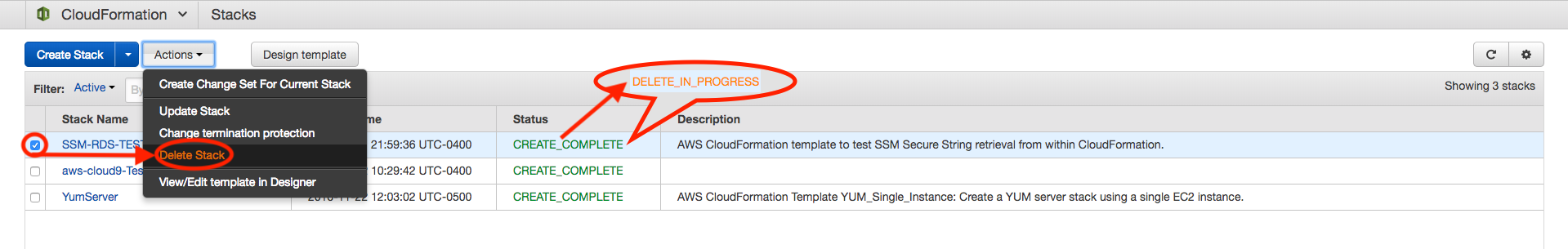 Accessing SSM Params in CloudFormation - beta awsdocs com